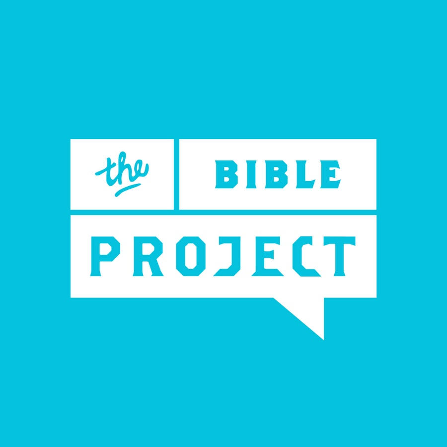 The Bible Project Logo Blue